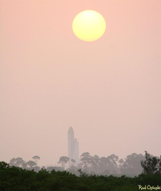 Atlantis Foggy Sunrise