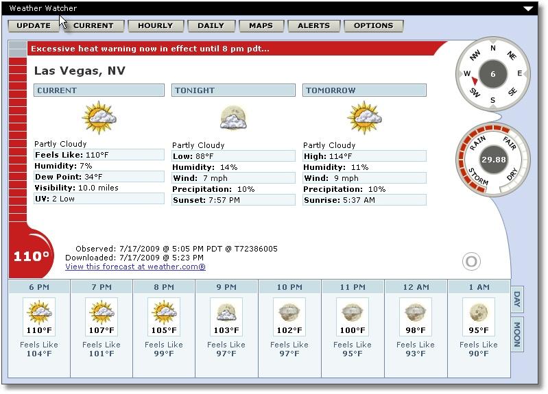 Las Vegas July 16th 2009