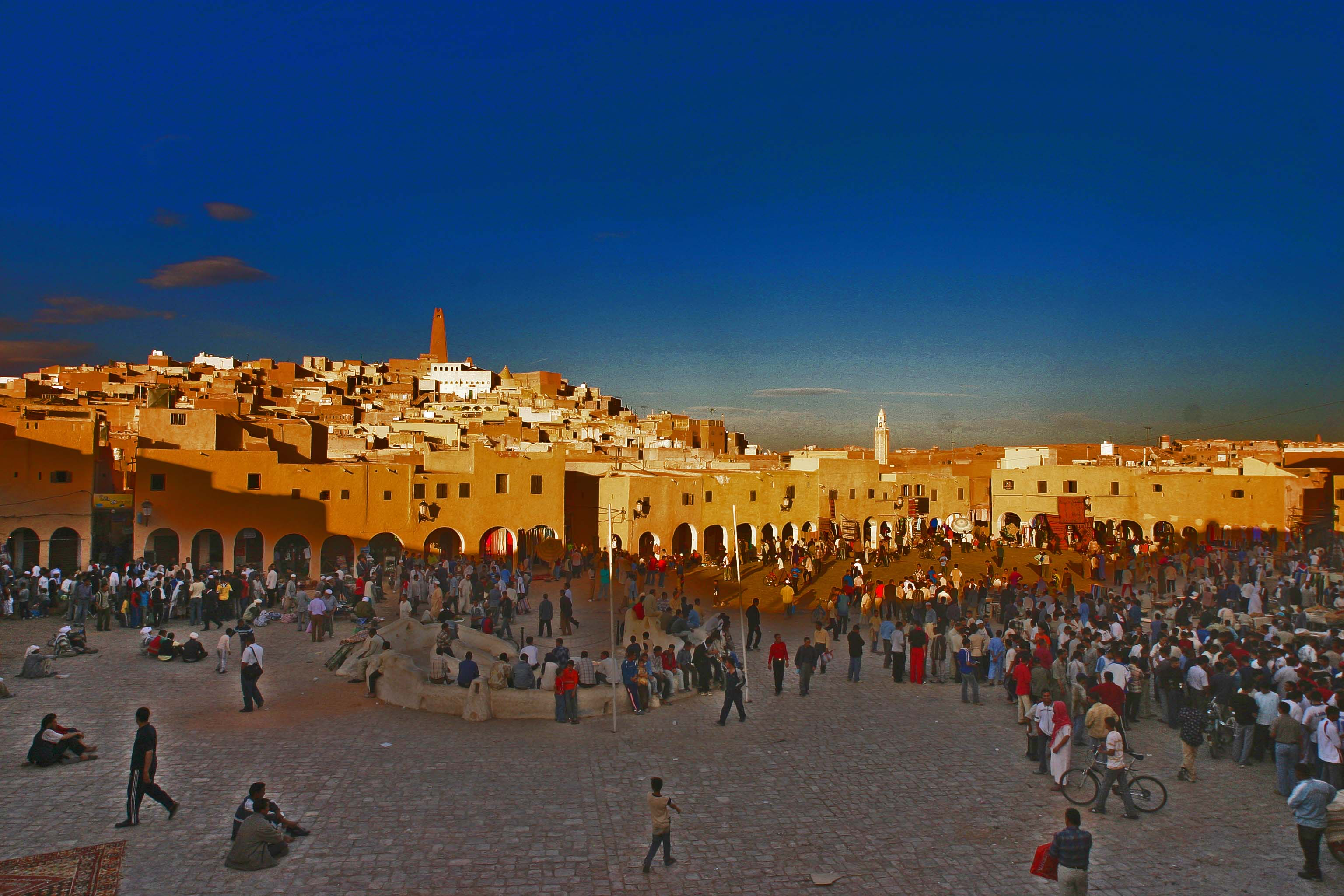 The square,Ghardaia