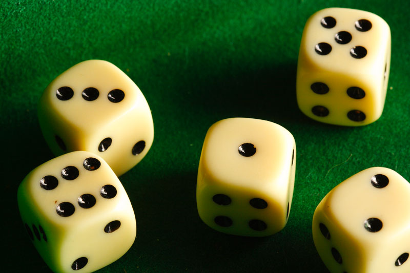 Mar 6: On the roll of the dice
