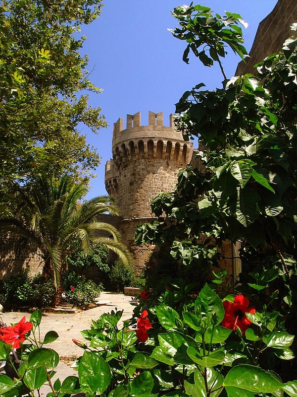 The Crusader Castle at Rhodes