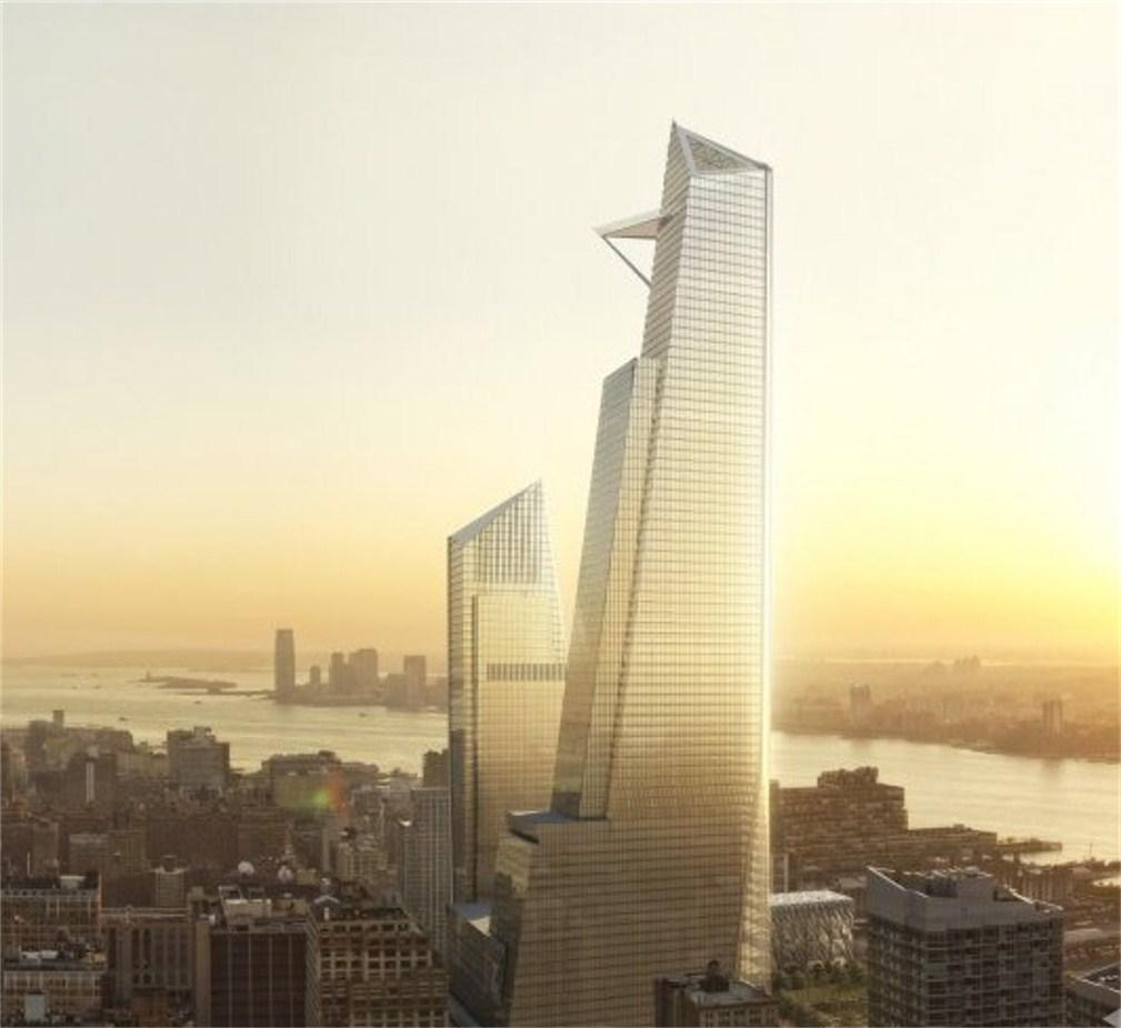 NEW YORK | 30 Hudson Yards - Manhattan Tower | 387m | 1268ft | 73 fl ...