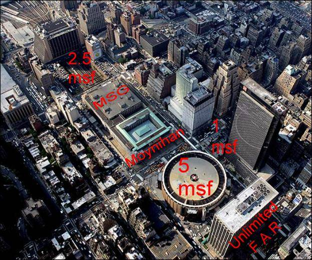 Lovely Madison Square Garden   4 Penn Plaza   By Charles Luckman Associates  [Archive]   Wired New York Forum