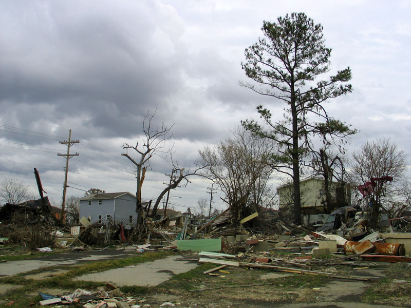 Lower Ninth Ward-Five Months After Katrina