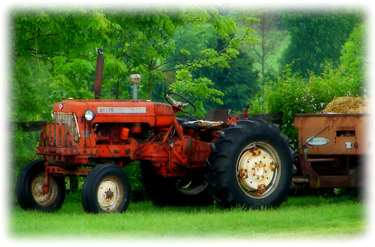 my brothers tractor