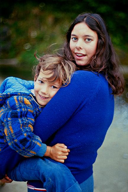 1974 Sean and Becky Oregon Coast