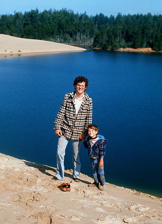 1974 Sean and Zane-Oregon Coast-2