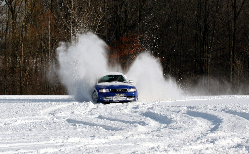 Audis enjoying the snow – Nick's Car Blog