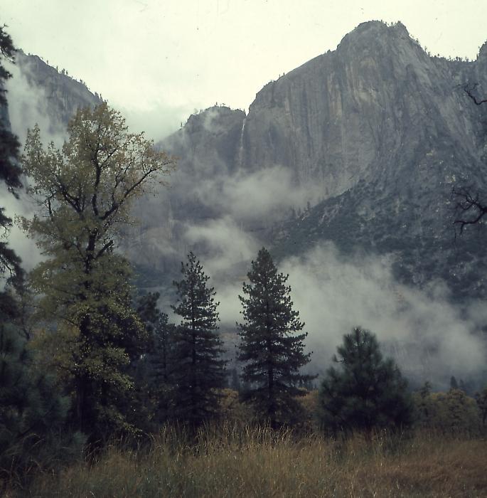 Yosemite Falls, Nov. 1965