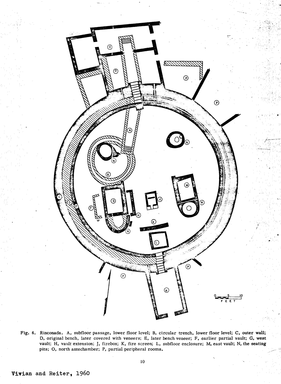 Casa Rinconada diagram