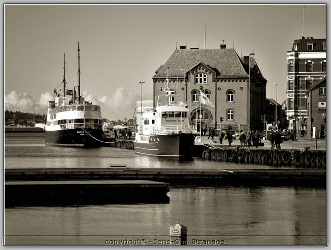 The harbour of Stavanger