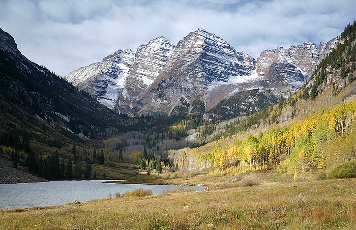 The Maroon Bells-Another Angle