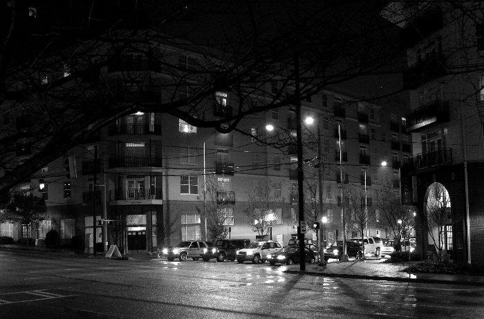 Midtown Corner in the Rain