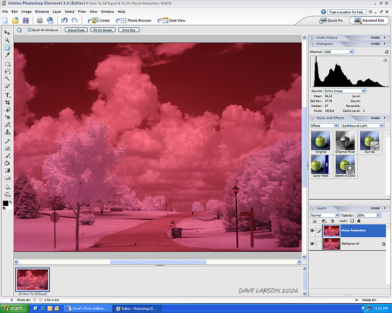 IR — Step 1: Noise Reduction