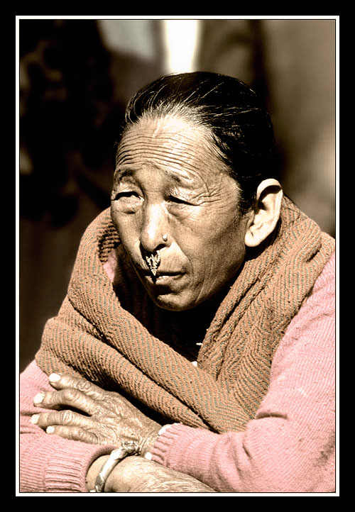 tibetaine à katmandu