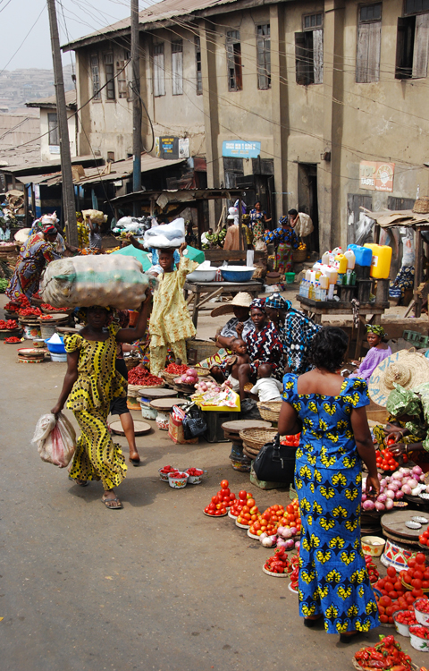 Street Color: Ibadan