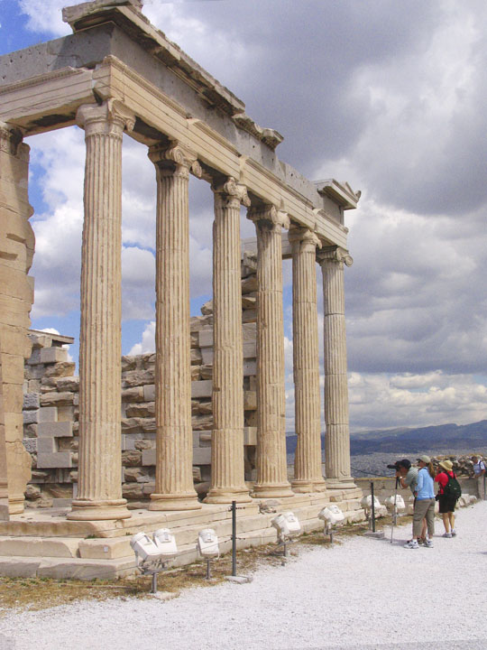 Acropolis - Erechtheion Entrance on East side .jpg