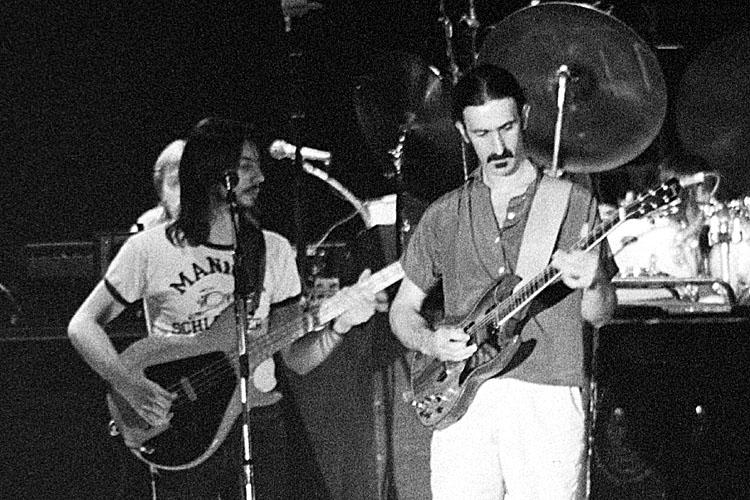 Frank Zappa, Arthur Barrow <br>fa0321-11