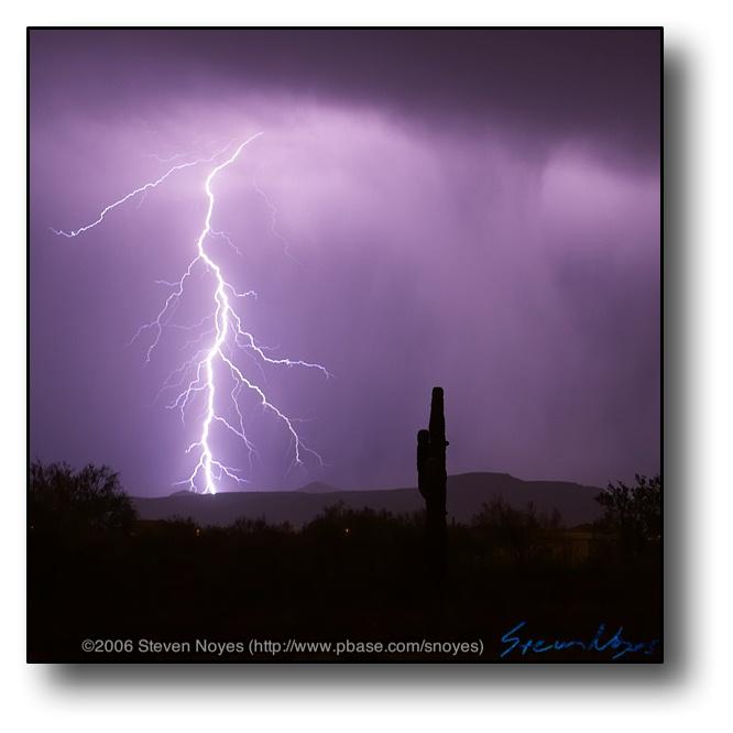 AZ Monsoon Lightning : Lightning 101