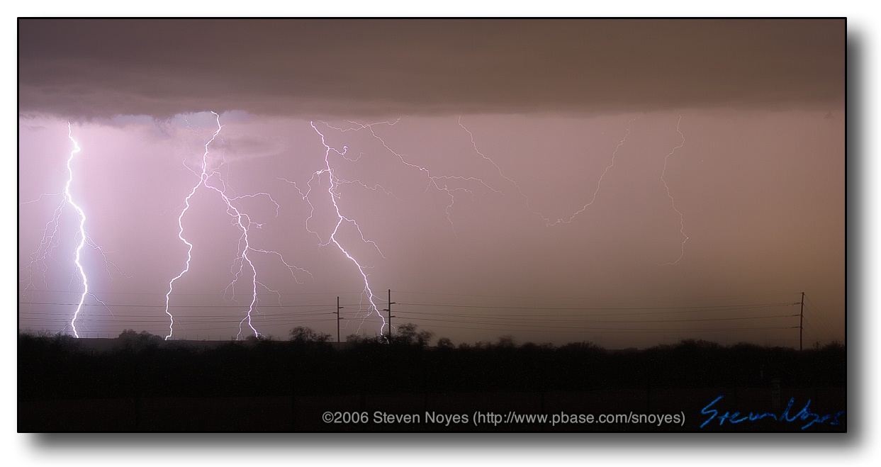 North Tucson : AZ Monsoon Lightning