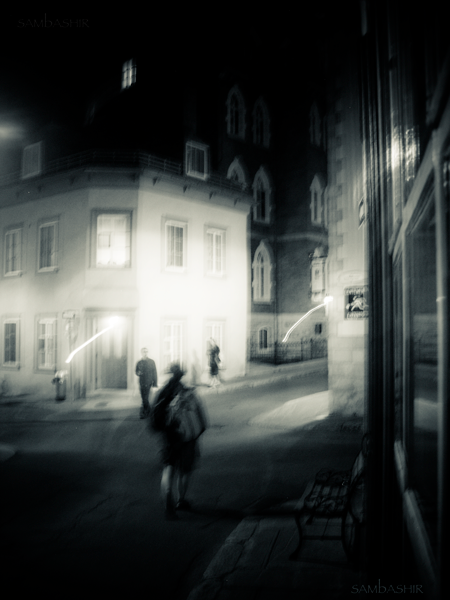Ghosts in the Old Town