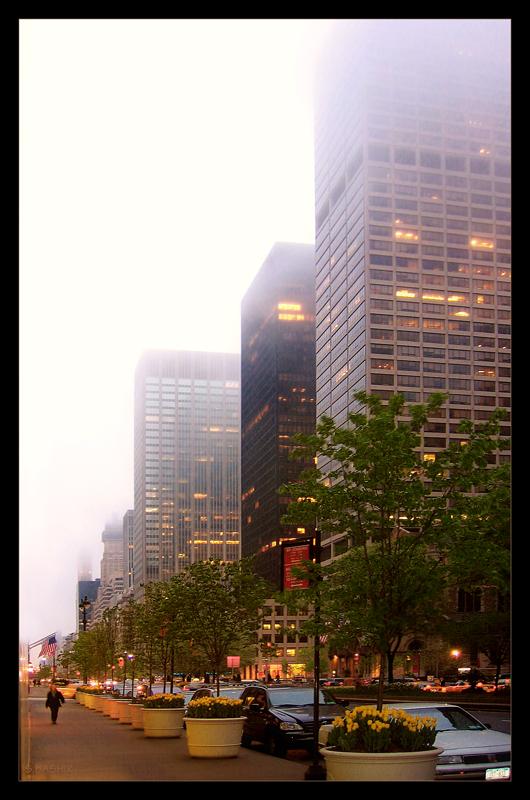 Foggy in New York