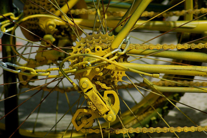 Yellow Bikes