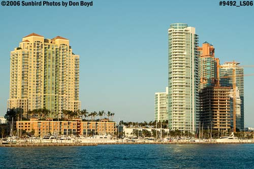 High-rise condominiums on South Beach, Miami Beach, landscape stock photo #9492