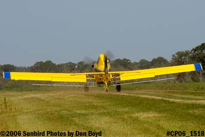 Dixon Brothers Flying Service Air Tractor AT-402 N4555E crop duster aviation stock photo #CP06_1518