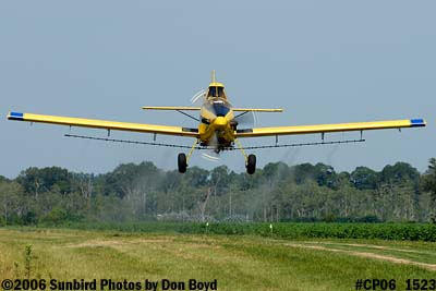 Dixon Brothers Flying Service Air Tractor AT-402 N4555E crop duster aviation stock photo #CP06_1523