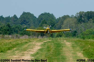 Dixon Brothers Flying Service Air Tractor AT-402 N4555E crop duster aviation stock photo #CP06_1526