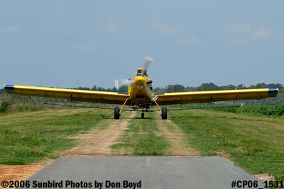 Dixon Brothers Flying Service Air Tractor AT-402 N4555E crop duster aviation stock photo #CP06_1531