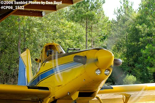 Dixon Brothers Flying Service Air Tractor AT-402 N4555E crop duster aviation stock photo #CP06_1532