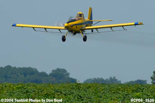 Dixon Brothers Flying Service Air Tractor AT-402 N4555E crop duster aviation stock photo #CP06_1536