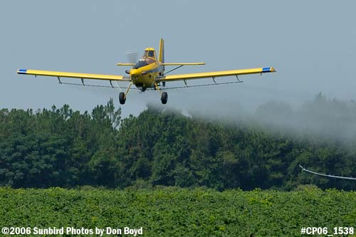 Dixon Brothers Flying Service Air Tractor AT-402 N4555E crop duster aviation stock photo #CP06_1538