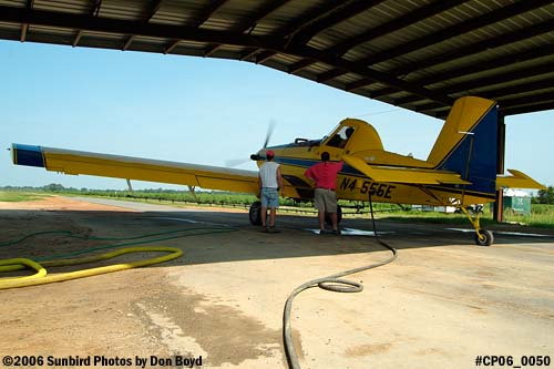 Dixon Brothers Flying Service Air Tractor AT-402 N4555E crop duster aviation stock photo #CP06_0050