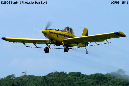 Dixon Brothers Flying Service Air Tractor AT-402 N4555E crop duster aviation stock photo #CP06_1541