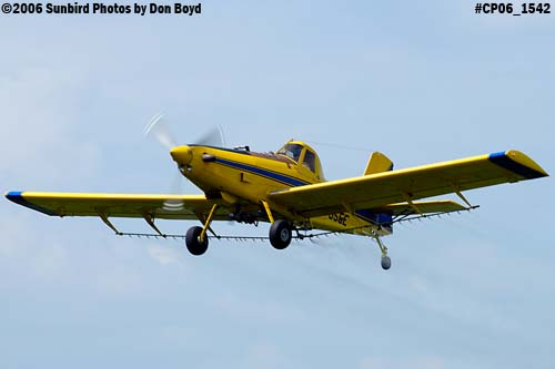 Dixon Brothers Flying Service Air Tractor AT-402 N4555E crop duster aviation stock photo #CP06_1542