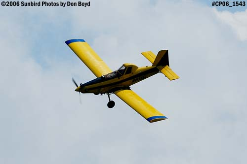 Dixon Brothers Flying Service Air Tractor AT-402 N4555E crop duster aviation stock photo #CP06_1543