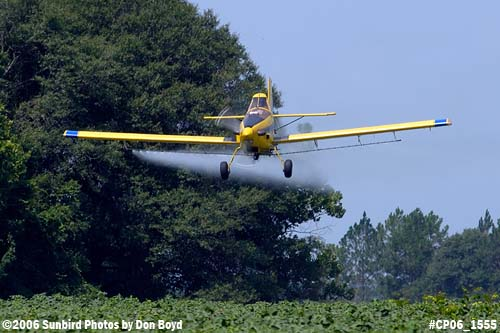 Dixon Brothers Flying Service Air Tractor AT-402 N4555E crop duster aviation stock photo #CP06_1555