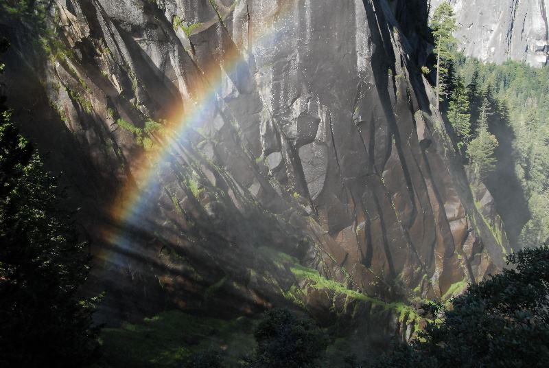 Rainbow at Vernal Falls