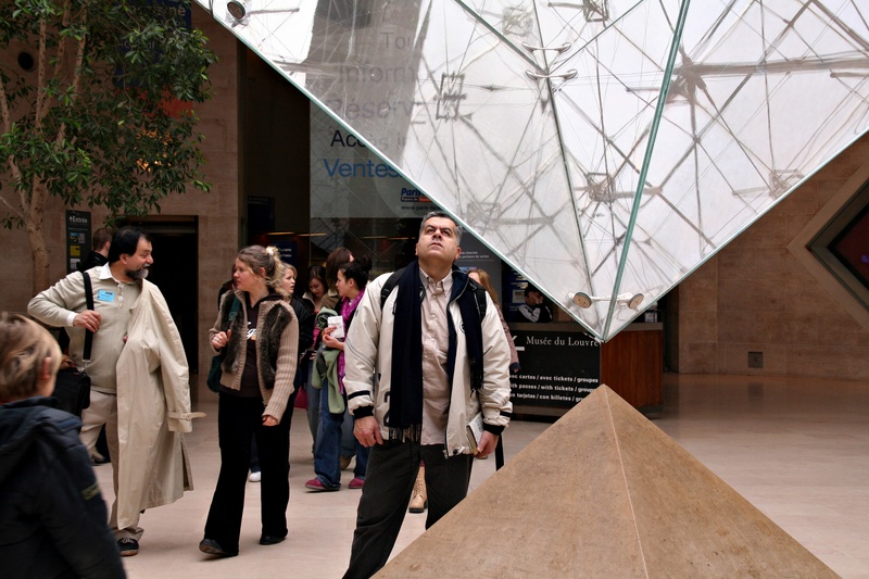 Louvre reverse pyramid