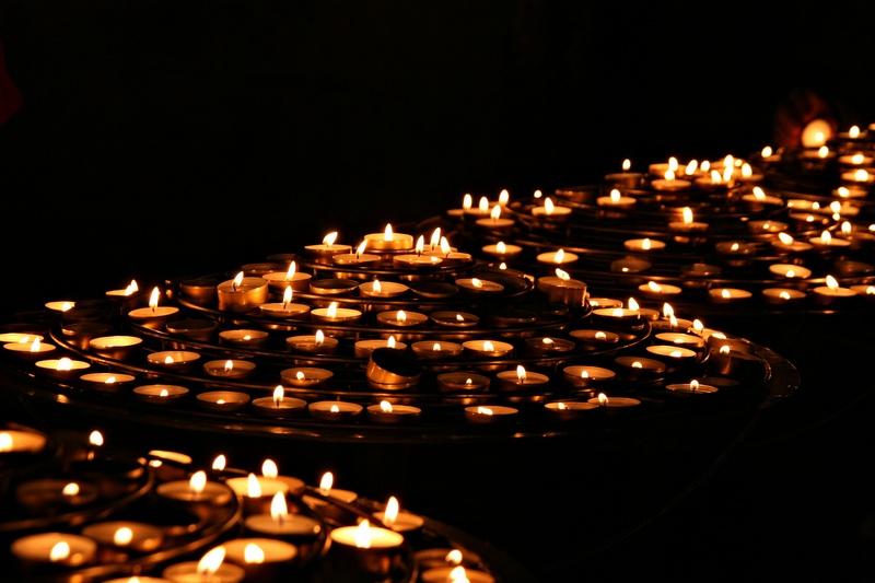 Candles of Notre Dame