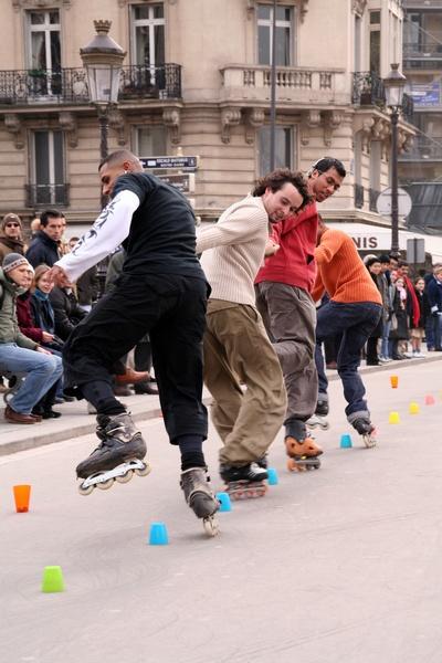 Notre Dame skaters