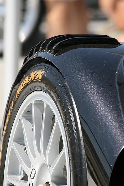 Audi wheel arch