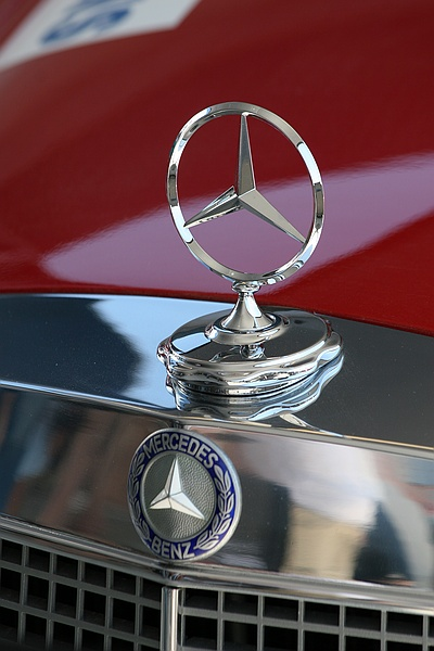 Mercedes touring car from the 60s
