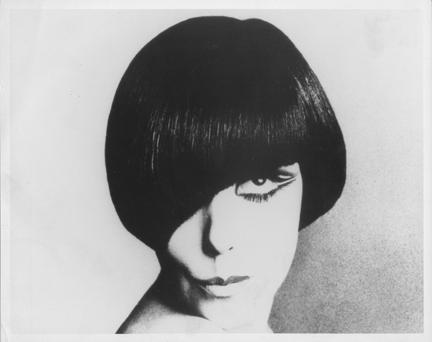 Peggy Moffitt. 1965 BY VIDAL SASSOON