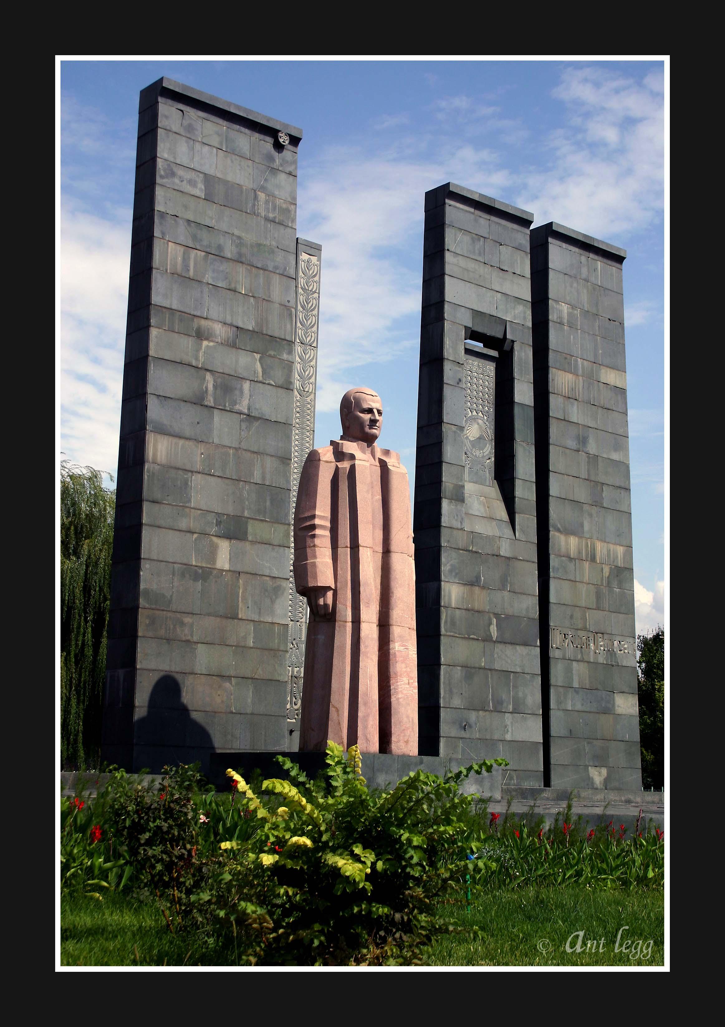 A statue in Yerevan