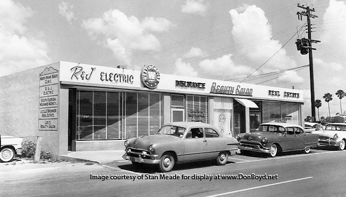 1950 S R Amp J Electric South Florida Insurance Agency Lee