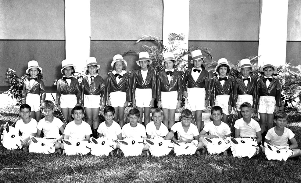 1948 - Mrs. Tompkins 3rd grade class at Coral Gables Elementary School